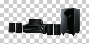 Home Theater Systems 5.1 Surround Sound Onkyo AV Receiver PNG