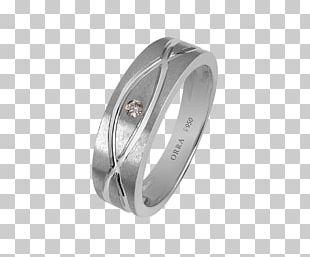 Wedding Ring Engagement Ring Jewellery Platinum PNG