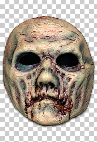Face-Mask Zombie Face-Mask Zombie Halloween Costume PNG