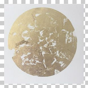 Gold Leaf Acrylic Paint Painting Metallic Color PNG