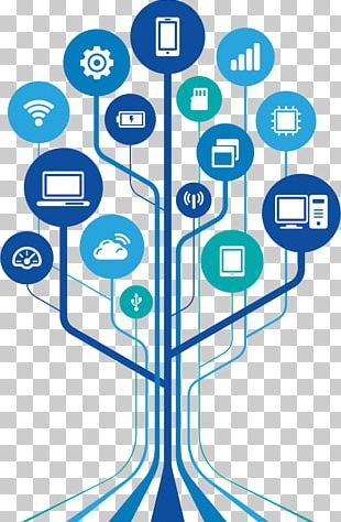 Technology Impact Wall Decal Technology Tree Information And Communications Technology PNG