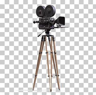 Tripod Movie Camera Photography PNG