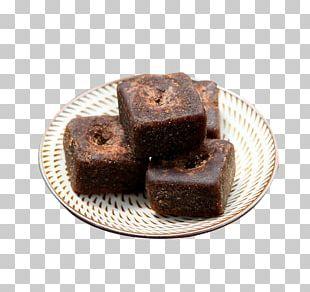 Yunnan Chocolate Brownie Ginger Tea Parkin Brown Sugar PNG