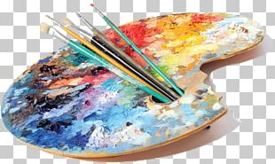 Artist Painting Studio Palette PNG
