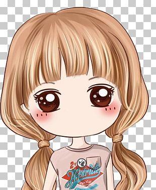 Girl Cartoon Anime Drawing PNG