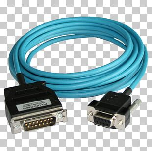 Serial Cable Electrical Cable Simatic S5 PLC Electrical Connector Serial Port PNG