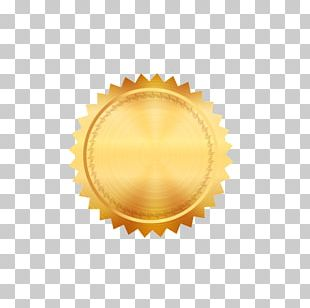 Gold Seal PNG