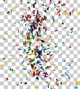 Paper Confetti Metal Texture Mapping PNG