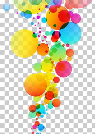 Light Color Bubble PNG