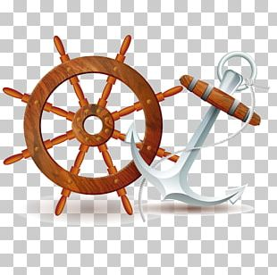 Ship's Wheel PNG