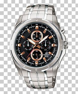 Watch Casio Edifice Chronograph Bracelet PNG