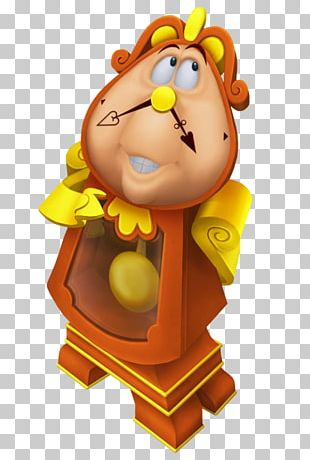 Beast Belle Cogsworth Maurice Character PNG