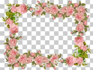 Paper Borders And Frames Vintage Clothing Flower Rose PNG