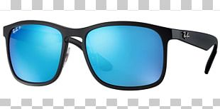 Ray-Ban RB4264 Chromance Aviator Sunglasses Clothing Accessories PNG