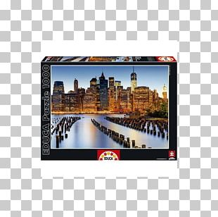 Jigsaw Puzzles Flatiron Building Educa Borràs Game PNG