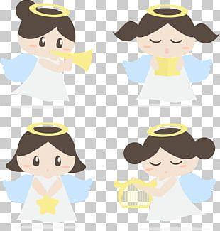 Angel Illustration PNG