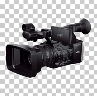 Video Cameras 4K Resolution Sony Handycam FDR-AX1 PNG