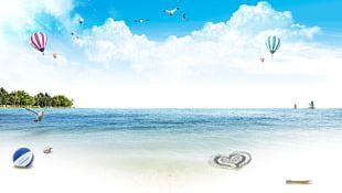 Summer Beach Sea PNG