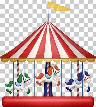 Carousel Amusement Park Playground PNG