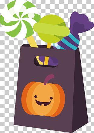 Jack-o'-lantern Halloween Pumpkin Candy PNG