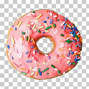 Donuts Frosting & Icing Sprinkles PNG