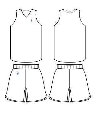 NBA Template Basketball Uniform Jersey PNG
