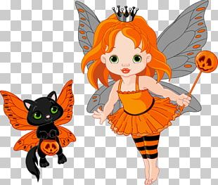 It's Halloween Trixie The Halloween Fairy PNG
