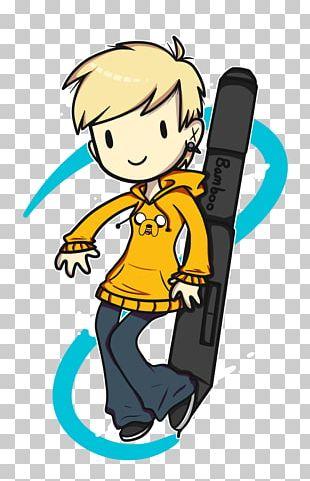 Boy Cartoon Shoe PNG