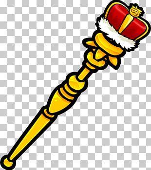 Sceptre Crown King Monarch PNG