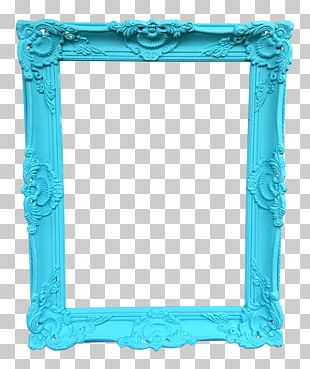 Frames Tiffany Blue Decorative Arts Aqua PNG