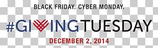 Giving Tuesday Cyber Monday Non-profit Organisation Black Friday Gift PNG