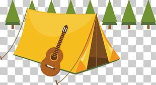 Camping Summer Camp Tent Illustration PNG