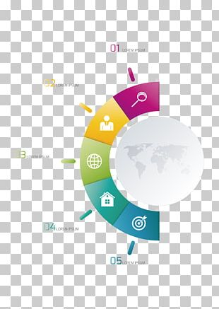 Infographic Chart Diagram Illustration PNG