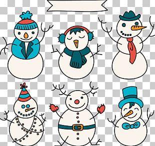 Snowman Christmas PNG