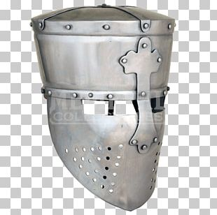 Middle Ages Crusades Great Helm Components Of Medieval Armour Knight PNG