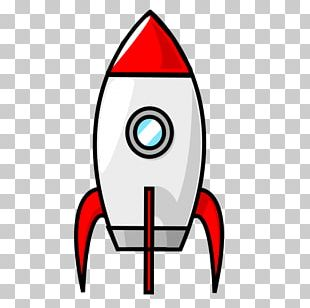 Spacecraft Rocket Drawing PNG
