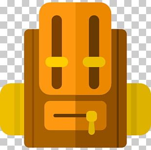 Backpack Hiking Baggage Icon PNG