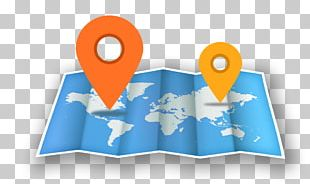 GPS Navigation Software Map Icon PNG