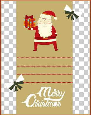 Santa Claus Christmas Greeting & Note Cards Poster Illustration PNG