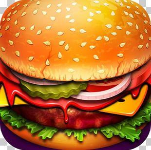 Hamburger Veggie Burger Cheeseburger Fast Food Free Arcade Games PNG
