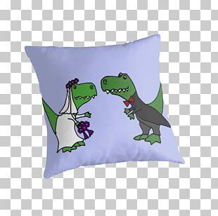 Tyrannosaurus Throw Pillows Cushion Dinosaur PNG