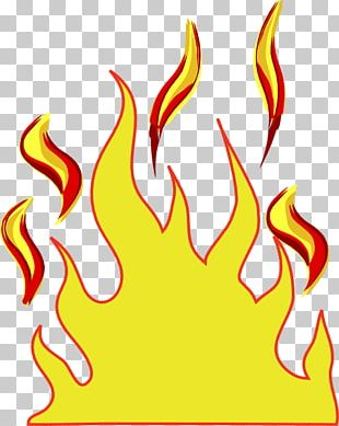 Cartoon Fire Flame PNG