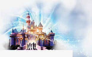 Disney Castle Creative PNG