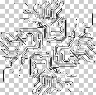 Circuit Lines PNG