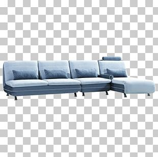 Sofa Bed Couch Grey Chaise Longue PNG