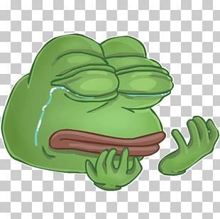Pepe The Frog Meme Sticker PNG