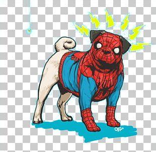 Marvel Heroes 2016 Spider-Man Dog Hulk Thor PNG
