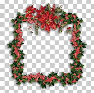 Christmas Day Wreath Christmas Ornament Christmas Card PNG