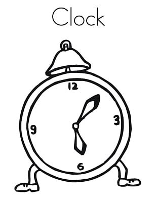 Alarm Clocks Coloring Book Table Cuckoo Clock PNG