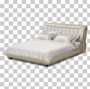 Mattress Bed Frame Bedroom Table PNG